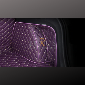 Lavender Purple 3D Luxury Leather Boot/Trunk Mat