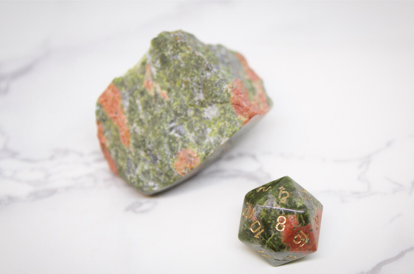 Saturn Unakite Single D20