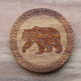 Bear Acacia Wood Single D20