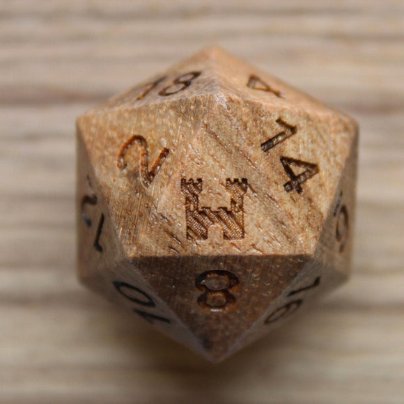 Citadel Zebrawood Single D20