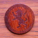 Lion Padauk Wood Single D20
