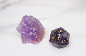 Sagittarius Amethyst Single D20