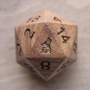 Wolf Black Walnut Single D20