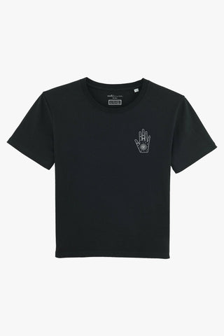 Mindful Muse Mystery Hand T-Shirt Candy schwarz