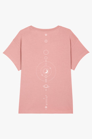 Mindful Muse Mindful Space T-Shirt Canyon Pink Rückseite
