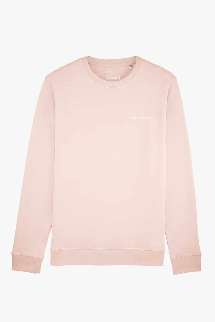 Mindful Muse dreamer Sweatshirt Candy Pink