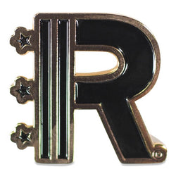 Front of Rapteez® Logo Lapel Pin in Gold