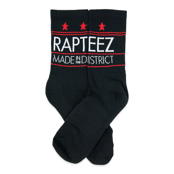 Black Rapteez® Made in the District Socks