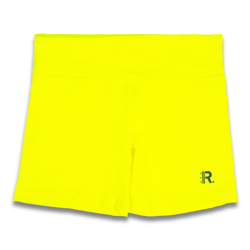 Rapteez® OG Logo Shorts | Neon Yellow