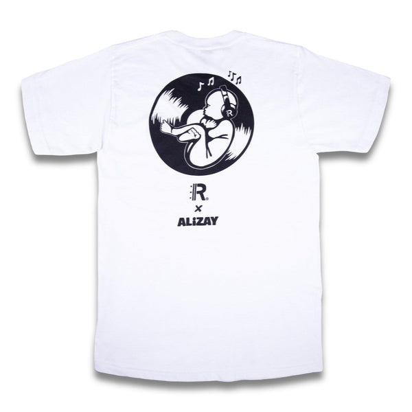 Rapteez® x Alizay Collab Tee | White