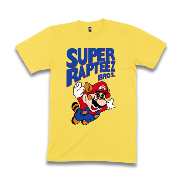 Super Rapteez® Bros. Tee | Yellow