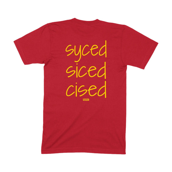 Syced Siced Cised Tee | Skins