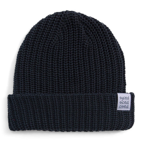 Syced Siced Cised Knit Beanie | Forest Green