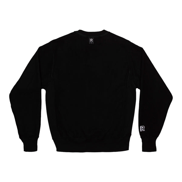 Syced Siced Cised Champion® Reverse Crewneck | Black