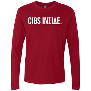 Cigs Inside. Men's Long Sleeve