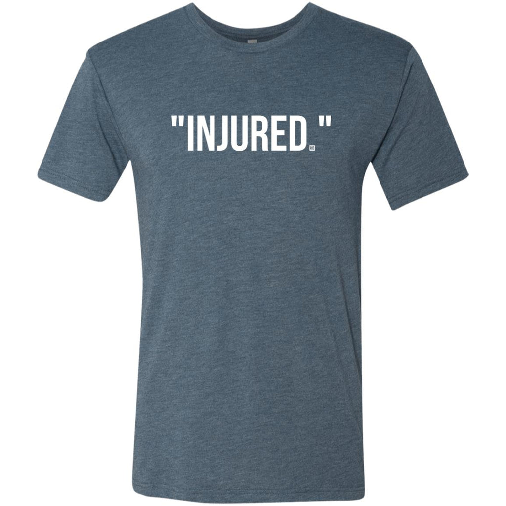 """Injured."" Men's Triblend T-Shirt"