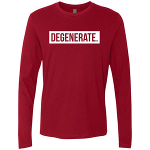 Degenerate. Men's Long Sleeve