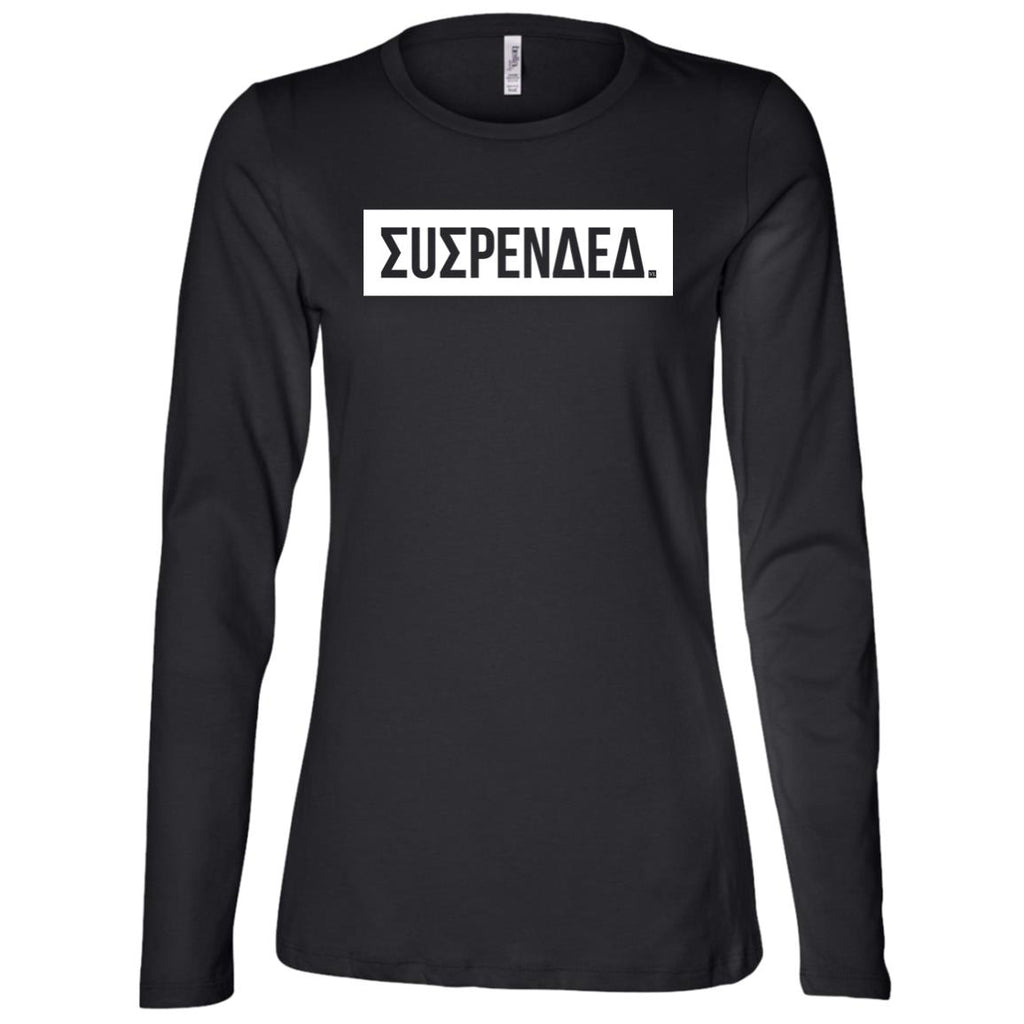 Suspended. Ladies' Long Sleeve