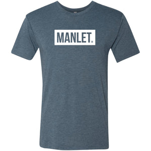 Manlet. Men's Triblend T-Shirt