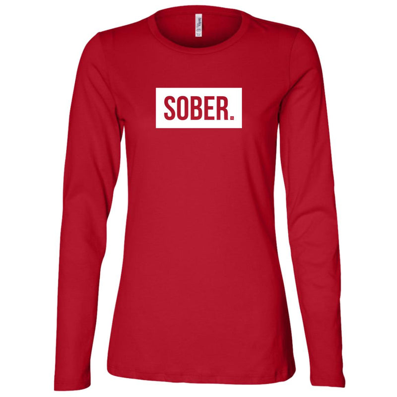Sober. Ladies' Long Sleeve