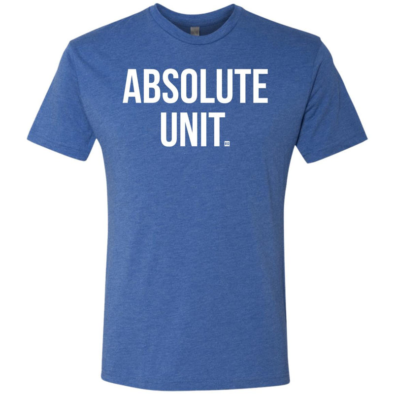 Absolute Unit. Men's Triblend T-Shirt