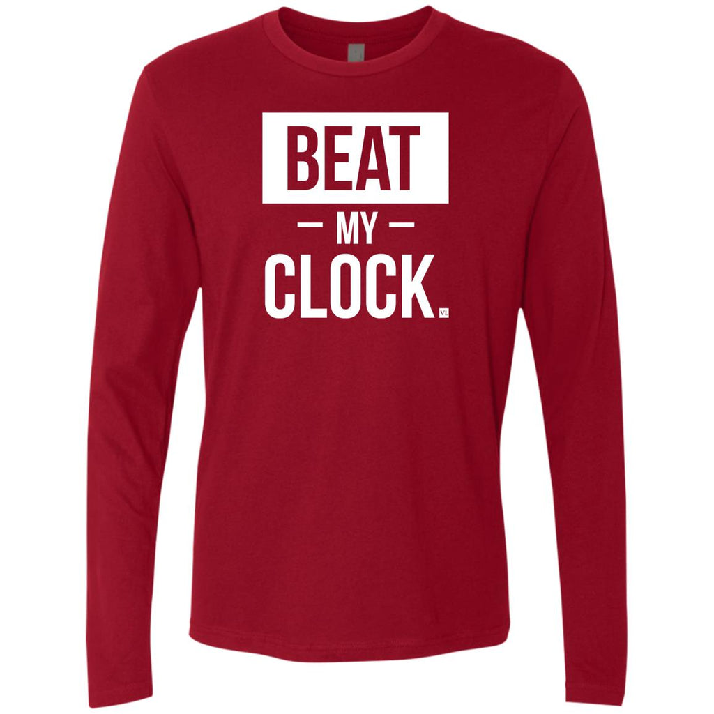 Beat My Clock. Men's Long Sleeve