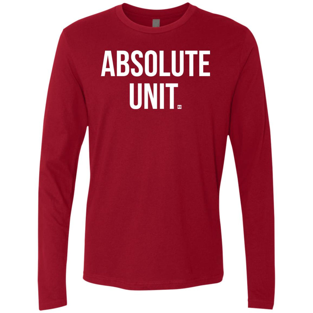 Absolute Unit. Men's Long Sleeve
