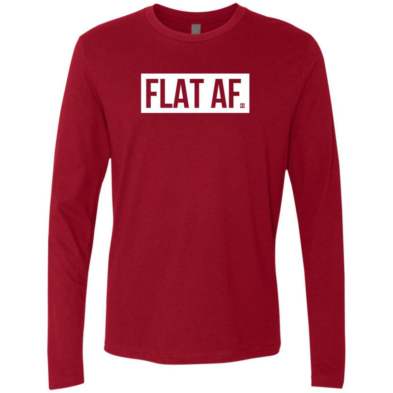 Flat AF. Men's Long Sleeve