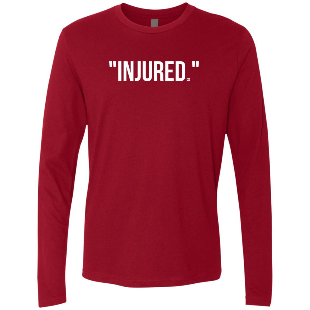 """Injured."" Men's Long Sleeve"