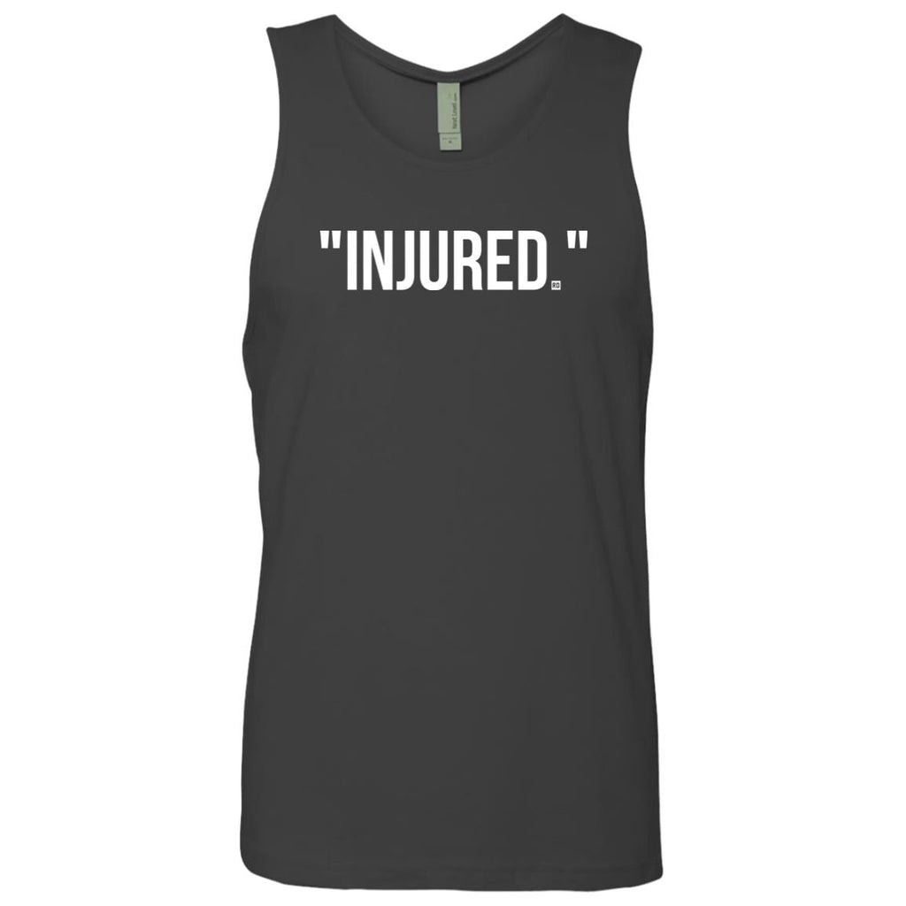"""Injured."" Men's Tank"