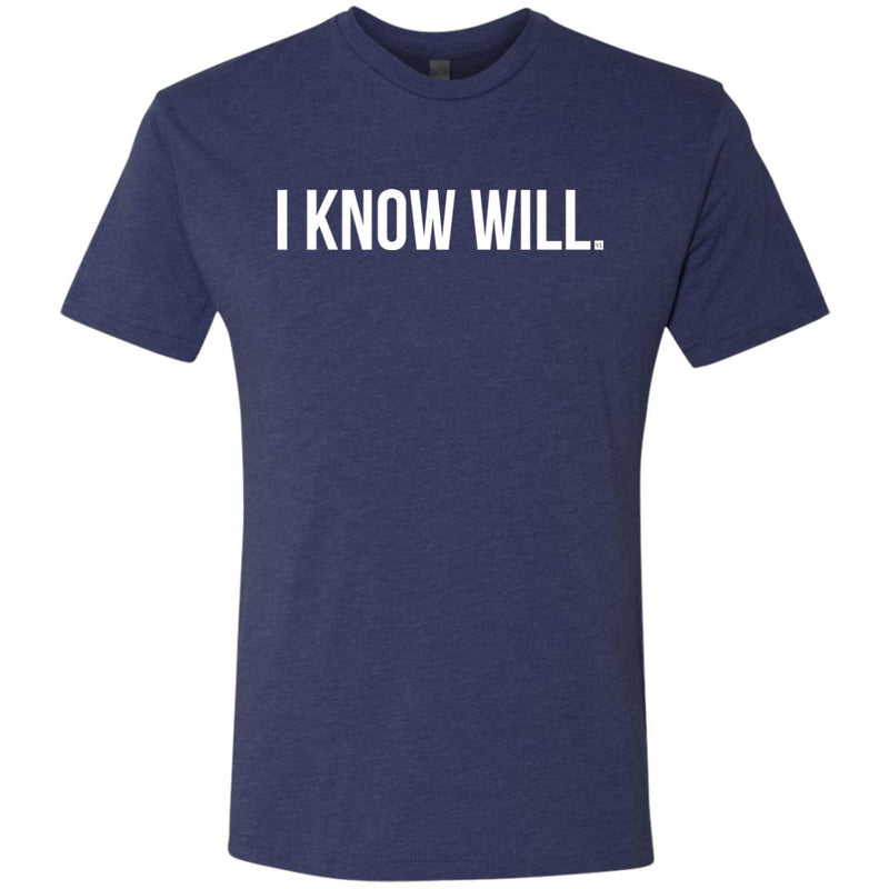 I Know Will. Men's Triblend T-Shirt