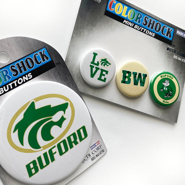 Buford Spirit Buttons