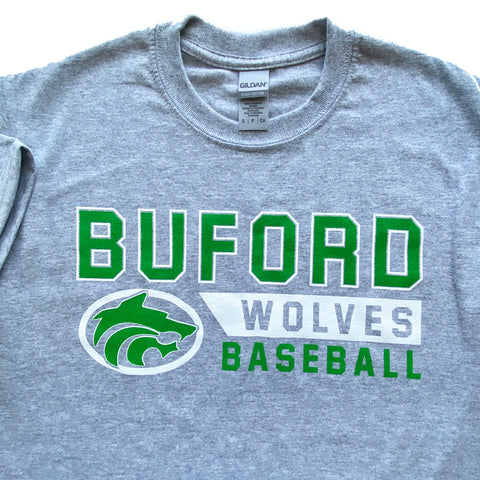 Buford Baseball Adult T-shirt