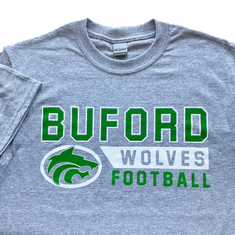 Buford Football Adult T-shirt