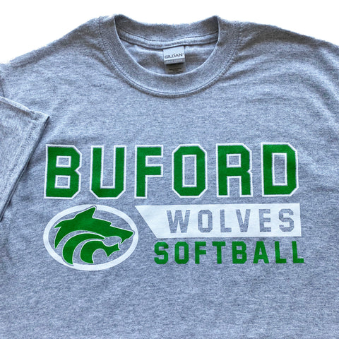 Buford Softball Adult T-shirt