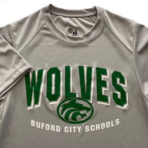 Buford Wicking Tee Badger Brand Adult Short Sleeve