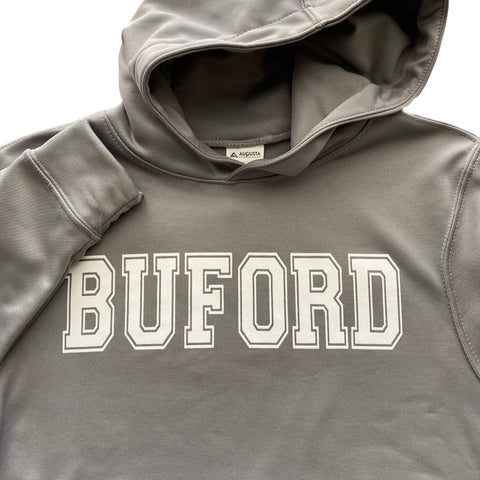 Buford Youth Dryfit Hoodie - Wicking Hoodie