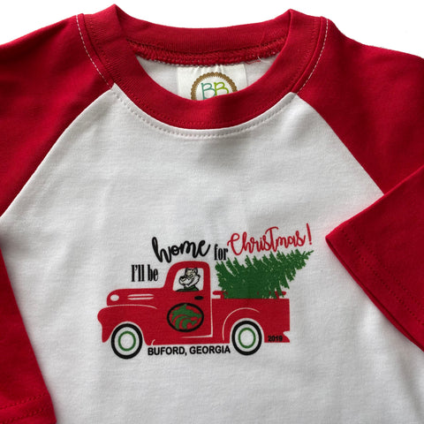 CLEARANCE Christmas Buford Truck for Baby or Toddler