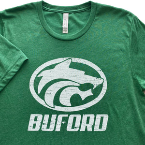 Buford Wolves Adult T-shirt AP Wolf