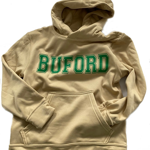 Buford Youth Dryfit Vegas Hoodie - Wicking Hoodie - RESTOCKED!