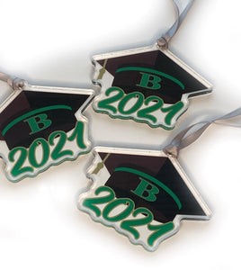 2021 Buford Graduation Acrylic Ornament / Gift Embellishment