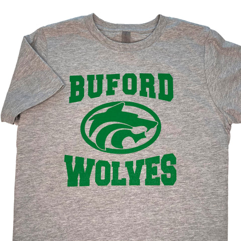 Buford Wolves Short Sleeve Champ T-shirt Youth