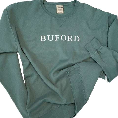 SALE Traditions Green Crew Sweatshirt - Buford Sweatshirt