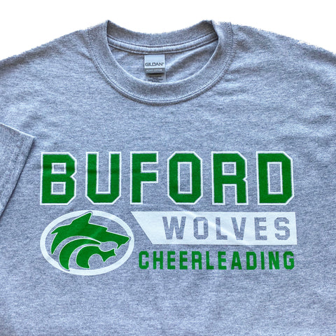Buford Cheerleading Adult T-shirt