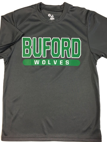 Buford Wicking Tee Badger Brand Youth