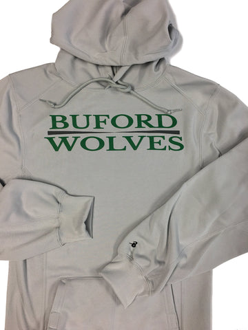 Silver Badger Brand Performance Fleece Hoodie Adult