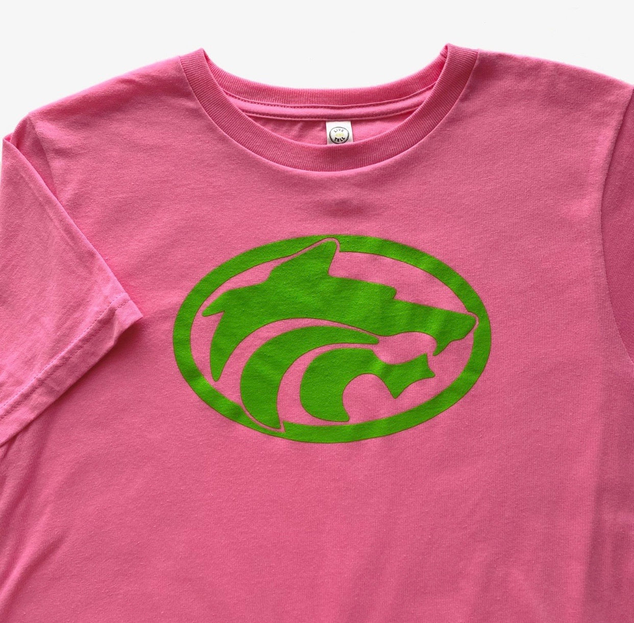 Buford  Wolves Short Sleeve Pink T-shirt Youth
