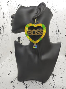 ARTSY SOUL BOSS LEMON LIME SPARKLE