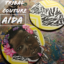 "Load image into Gallery viewer, TRIBAL COUTURE ""AIDA"""