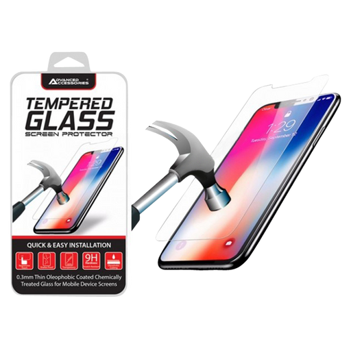 Advanced Accessories Apple iPhone 6/6S/7/8/SE 2nd Gen Tempered Glass Screen Protector